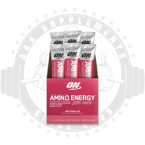 OPTIMUM NUTRITION - Essential AmiN.O. Energy - Stick Pack - 6 Sachets