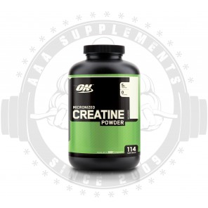 OPTIMUM NUTRITION - MICRONIZED CREATINE 600G
