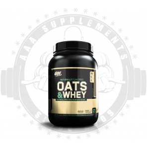 OPTIMUM NUTRITION - Natural Oats & Whey 1.4kg