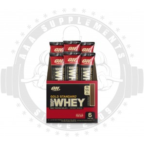 OPTIMUM NUTRITION - 100% Gold Standard Whey 30g - Stick Pack (Box of 6)