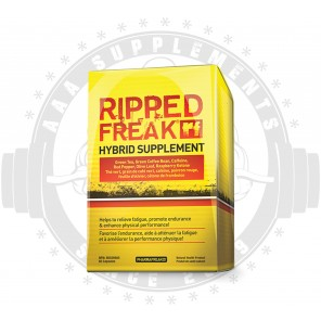 PHARMAFREAK - RIPPED FREAK (60 CAPS) - HYBRID THERMOGENIC CALORIE BURNER
