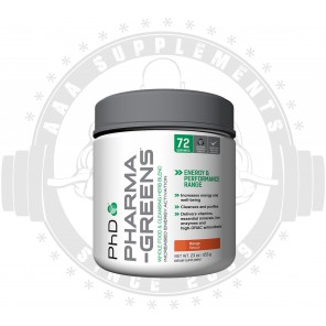 PHD SUPPLEMENTS - PHARMA-GREENS (72 SERVE)