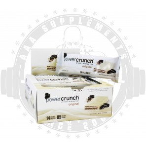 POWER CRUNCH - ORIGINAL PROTEIN ENERGY BAR [BOX OF 12]
