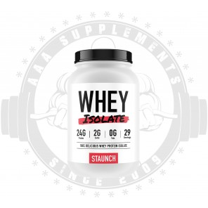 STAUNCH | Whey Isolate | 29 Serve