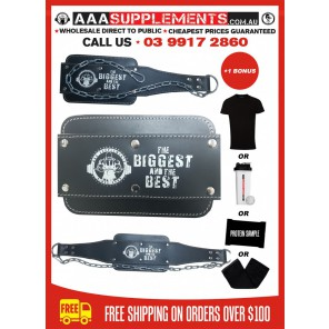 AAA SUPPLEMENTS - DIP BELT FULL LEATHER