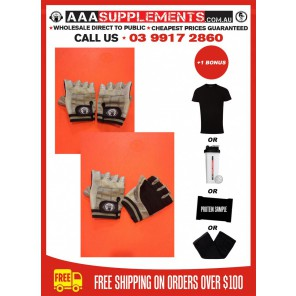 AAA 2016 - Premium Leather Gym Gloves