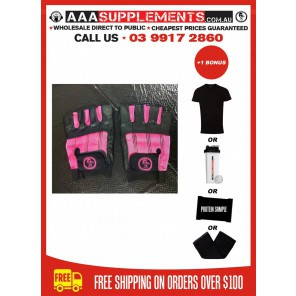 AAA 2016 - Premium Leather Gym Gloves (WOMENS)