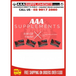 AAA SUPPLEMENTS GIFT CARD [$100]