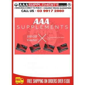AAA SUPPLEMENTS GIFT CARD [$50]