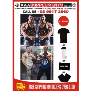AAA 2017 | Men's Y-Back | Singlet | 100% Cotton | THICK PRINT