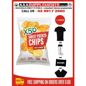Tribeca Health | X50 Sweet Potato Chips | 20 Pack