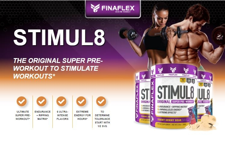 AAA Supplements stimul8, load, loaded, stim, 8, pre, workout,work ...
